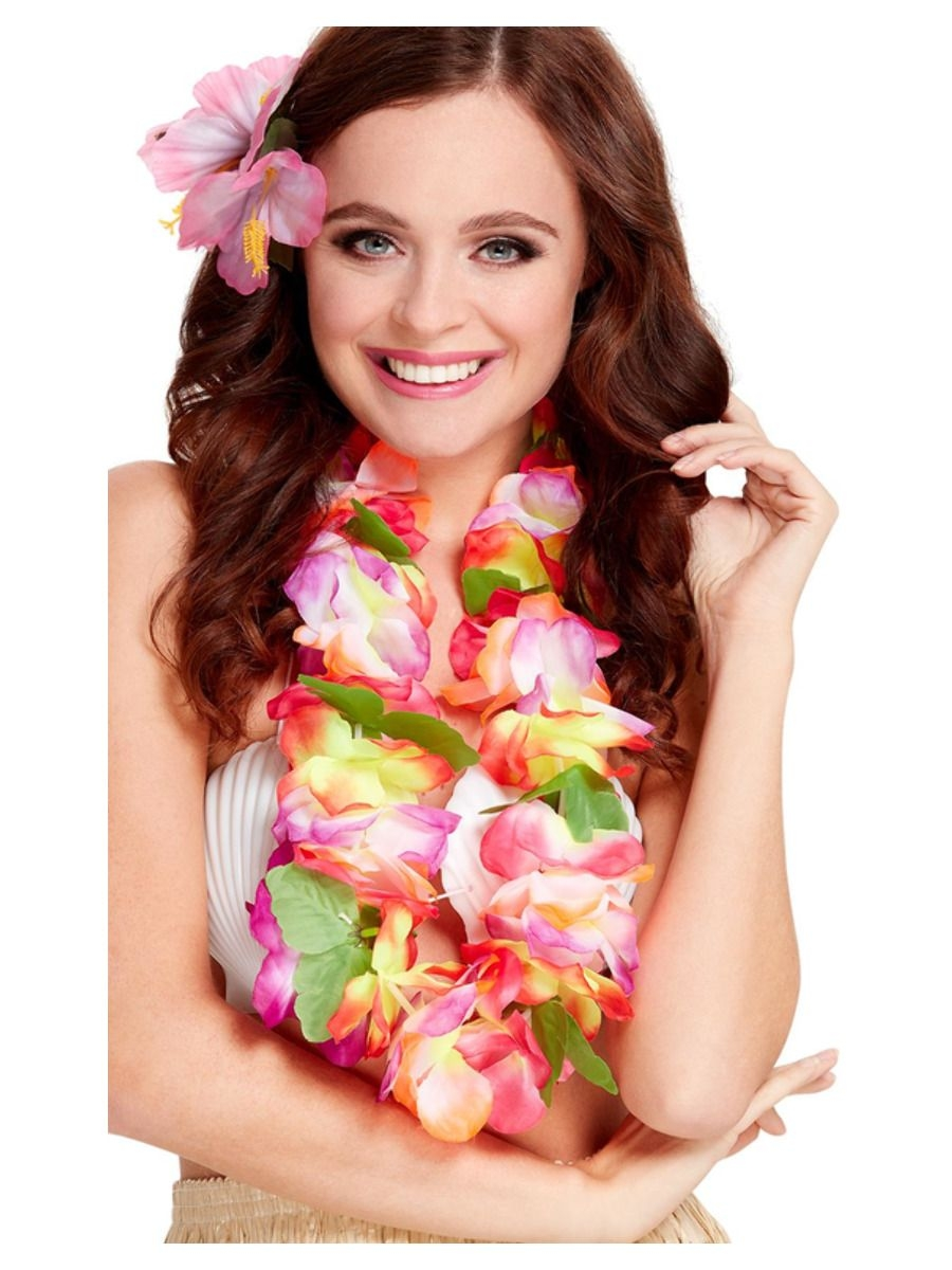 Floral Leis & Grass Skirts