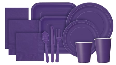 Deep Purple Partyware