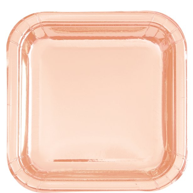 Rose Gold Partyware