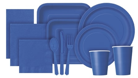 Royal Blue Partyware