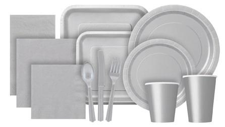 Silver Partyware
