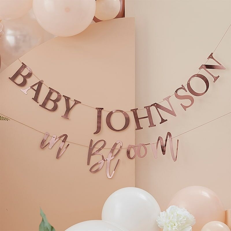 Baby In Bloom Baby Shower