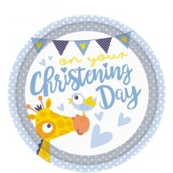 Cute Giraffe Christening Day Theme