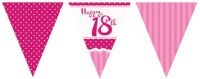 18th Birthday Banners and Bunting